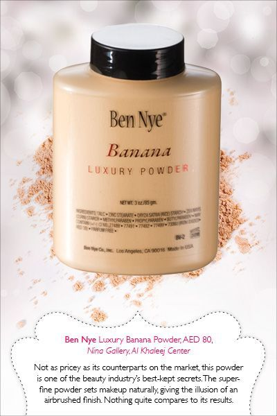 10 Life-Changing Makeup Products | Savoir Flair - I've heard so much about this Ben Nye powder...may need to try it finally
