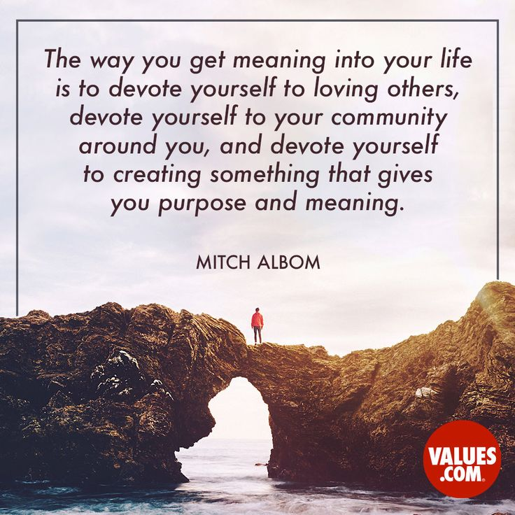 Offer your time to something that gives you purpose #generosity #volunteer #purpose www.values.com