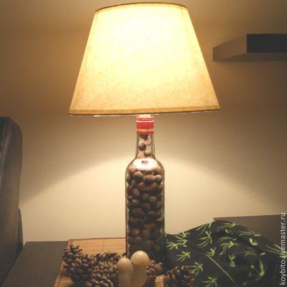 Светильник настольный декоративный новогодний Фундук - лампа,светильник