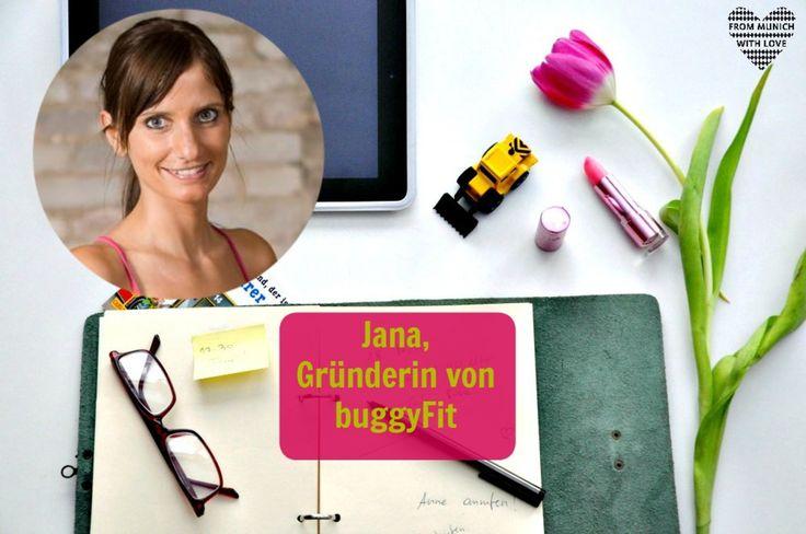 """Heute wird es auf meinem Blog richtig sportlich! Denn Jana, die sich in der Serie """"Mama Start-Up"""" vorstellt, ist nicht nur Personaltrainer, sondern auch Gründerin eines erfolgreichen Fitnesskonzeptes für Frauen nach der Schwangerschaft."""