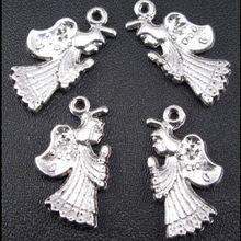 6ks Angle kovové Přívěsky Přívěsky náramky Pingentes Atacado Lote Ciondoli Berloque Breloque DIY Šperky Nálezy komponenty (Čína (pevninská část))