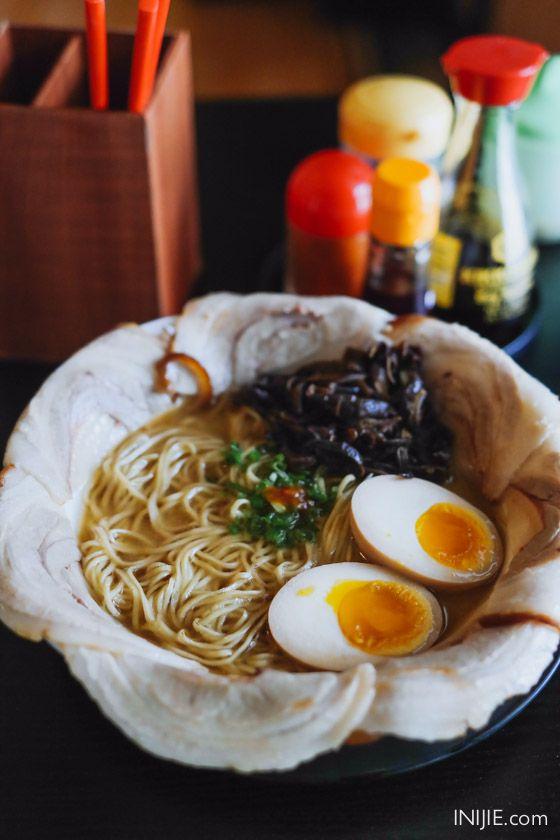 Ramen Nozomi - Pork Chashu Ramen. Address:Jl. M.H Thamrin 77 - 79 Surabaya. Phone : (031) 5680586