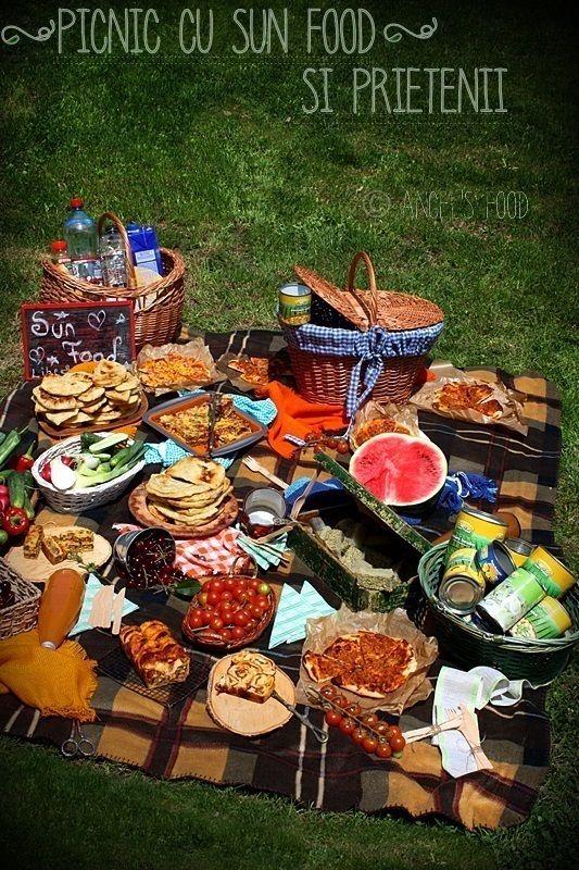 La picnic cu Sun Food si prietenii!
