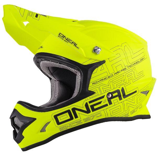 69bbccfc 2018 ONeal 3 Series Motocross Helmet - Flat Neon Yellow ...