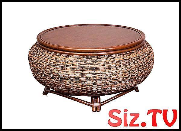 Table Basse Bermuda En Rotin Et Osier Modele Ber022 D Alexander Et