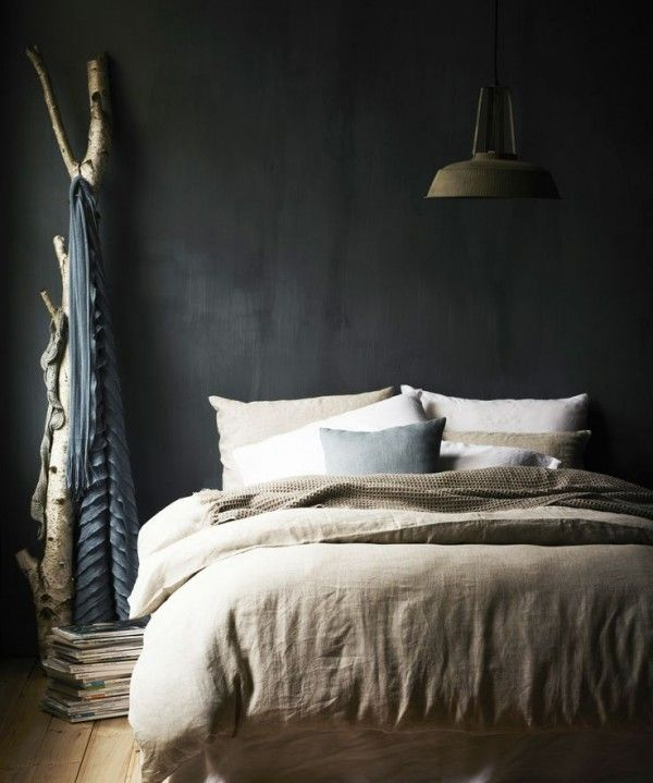 20+ beste ideeën over donkere slaapkamer muren op pinterest, Deco ideeën