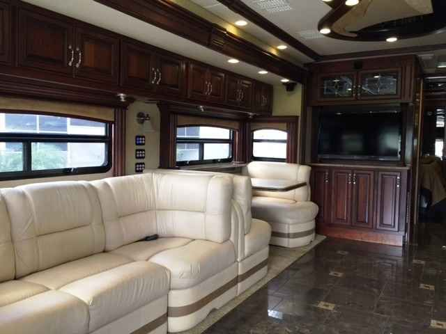 2012 Used American Coach AMERICAN EAGLE 42M Class A in Florida FL.Recreational Vehicle, rv, 2012 American Coach 42m , 2012 American Eagle 42 Full Wall Slide, Bath and a Half 42M Model, One Owner Down Sizing, Always Garaged, 19,000 miles, Cummins 450 HP with Jake Brake, Spartan Chassis with Independent Suspension, Michelin Tires, Double Girard Patio Awnings, 15,000 lb. Hitch, Mud Flap with Stainless Trim, Air Horns, Adjustable Pedals, Dual Monitors, Bose Home Entertainment Center, Sleeper…