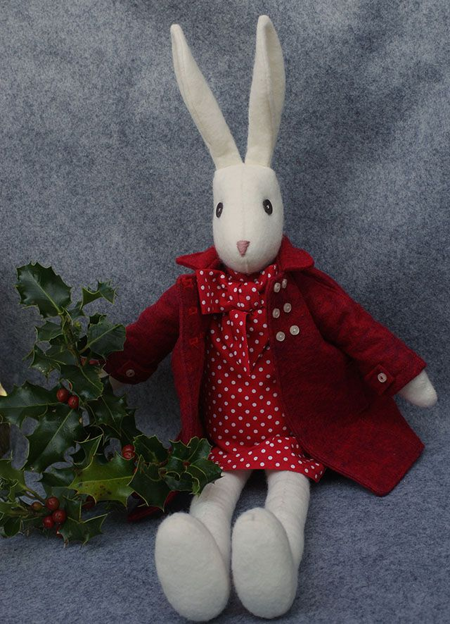 25 best luna lapin images on pinterest fiber hare and bunny rabbits luna lapin felt and liberty crafting and sewing kit kit contains everything to make our negle Gallery