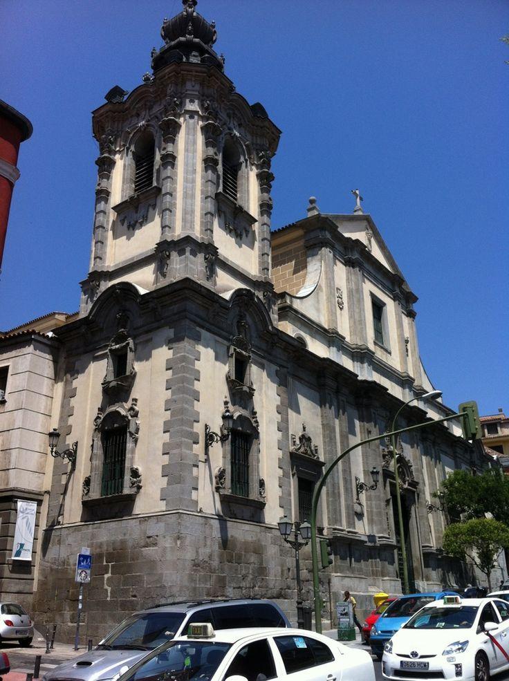 Publicamos la iglesia de Nuestra Señora de Montserrat, en Madrid. #historia #turismo  http://www.rutasconhistoria.es/loc/iglesia-de-nuestra-senora-de-montserrat