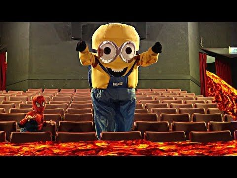 EL PISO ES LAVA CON MINION Y SPIDERMAN !! - RobleisIUTU ft. ThiagoIUTU - VER VÍDEO -> http://quehubocolombia.com/el-piso-es-lava-con-minion-y-spiderman-robleisiutu-ft-thiagoiutu    El suelo es lava/The floor is lava challenge: Es un reto/juego que trata de subirse a un lugar alto para no quemarse :'v Decidimos hacerlo con un Minion y Spiderman por la calle, cine y restaurantes con mi hermanito Thiago!! ^^ LIKAZOO♥ para mas videos como este :3 Thiago: → → →...