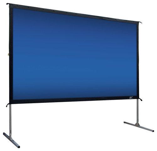 """Elite Screens - YardMaster2 120"""" Outdoor Rear Projector Screen - Silver"""