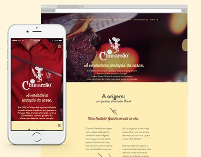 "Check out new work on my @Behance portfolio: ""Chimarrão website"" http://be.net/gallery/37792635/Chimarrao-website"