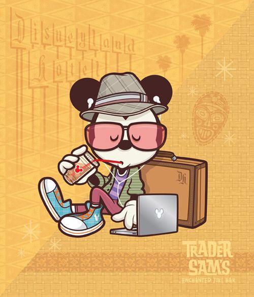 'Hipster Mickey' by Jerrod Maruyama
