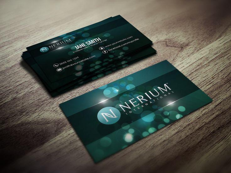 Best Nerium Business Cards Images On Pinterest Business Card - Mary kay business cards templates free
