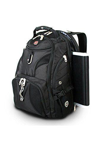 SwissGear Travel Gear ScanSmart Backpack 1900 (Black)