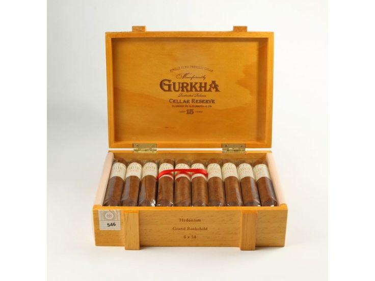 Gurkha Cellar Reserve 15Y Hedonism Grand Rothchild - 1 ks - Doutníky obchod