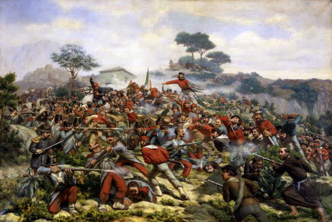 Battle of Calatafimi - Italian unification - Wikipedia, the free encyclopedia