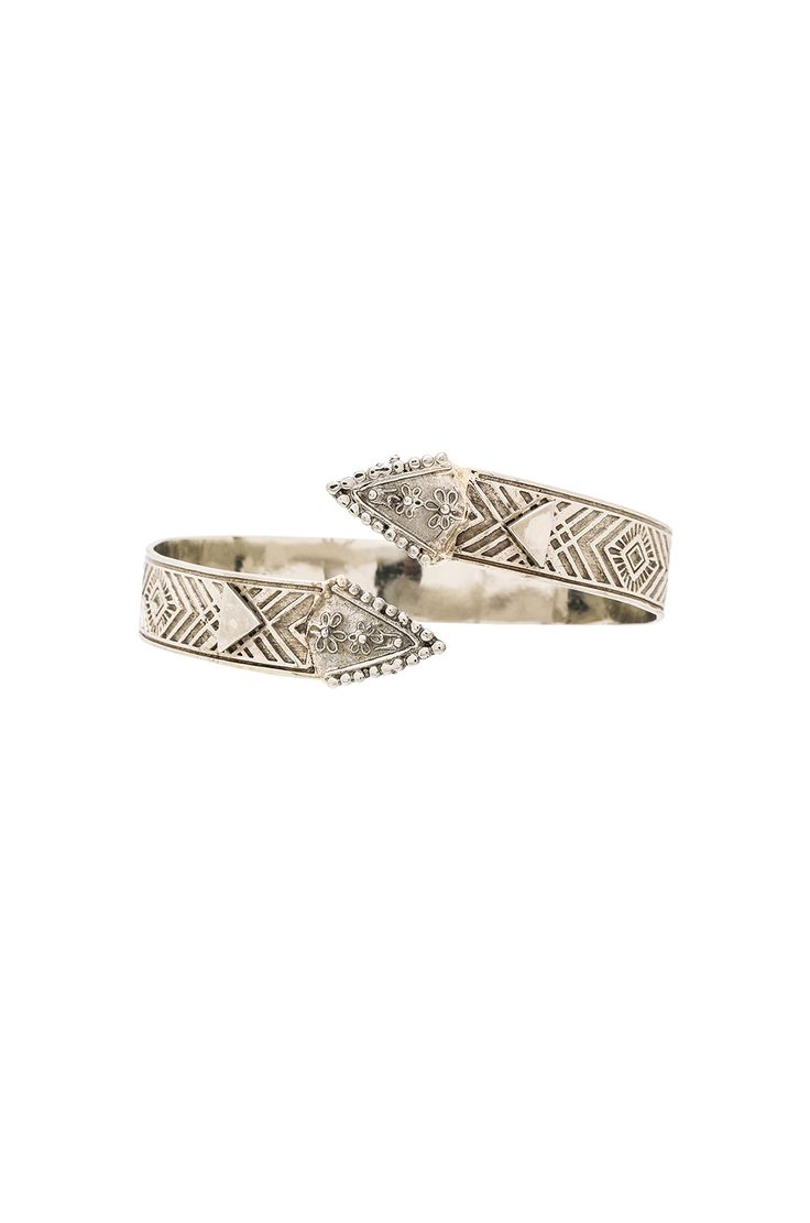 Cleobella Penny Armband in Antique Silver