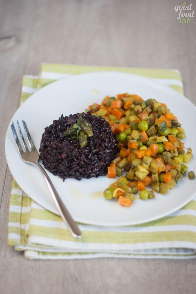Riso nero di primavera - Good Food LabGood Food Lab