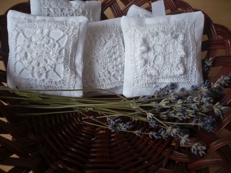 levandulové voňavé polštářky