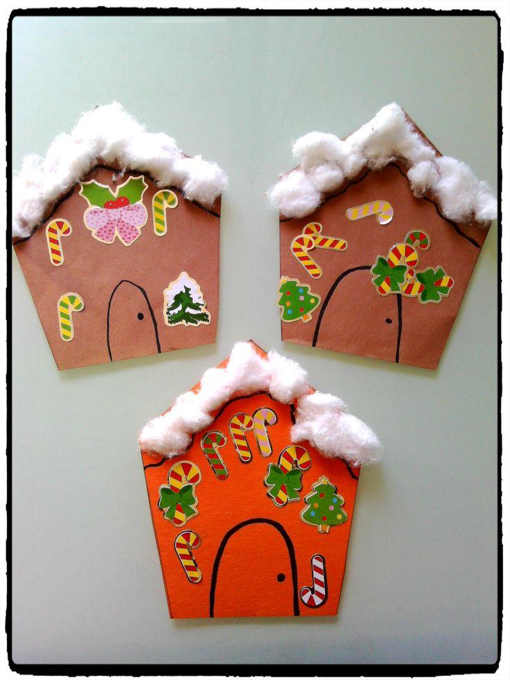 Maisons de pain d 39 pices bricolages de noel enfants for Maison et bricolage