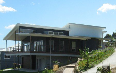 Australian house designs sloping blocks google search for Sloping block home designs nsw