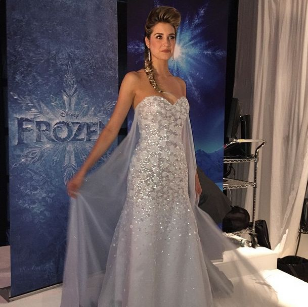 An Elsa wedding gown?! Plus the first look at the other 2015 Disney Wedding Gowns from Alfred Angelo