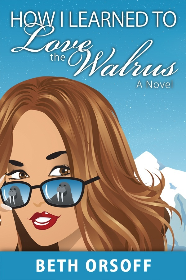 Cover for HOW I LEARNED TO LOVE THE WALRUS.  Check out what's reflected in those sunglasses.