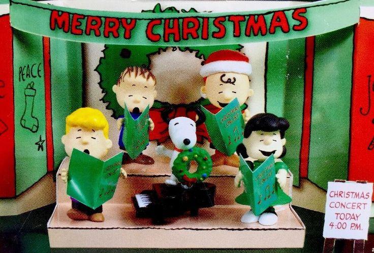 PEANUTS School Christmas Choir set NEW in box Charle Brown Snoopy Lucy Linus  | eBay
