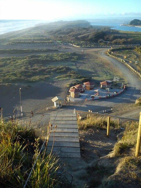Desde el cerro Maule en el sector para canopy!!!
