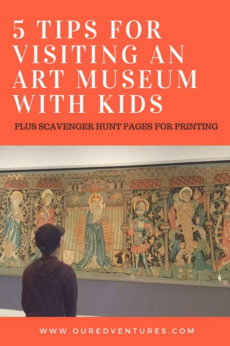 5 Tips for Visiting Art Museums with Kids