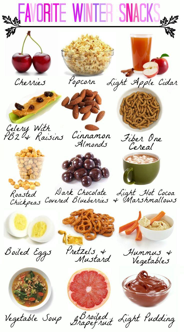 healthy winter snacks!