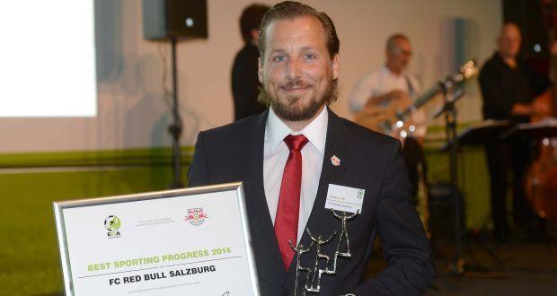 Auszeichnung für den FC Red Bull Salzburg durch die ECA