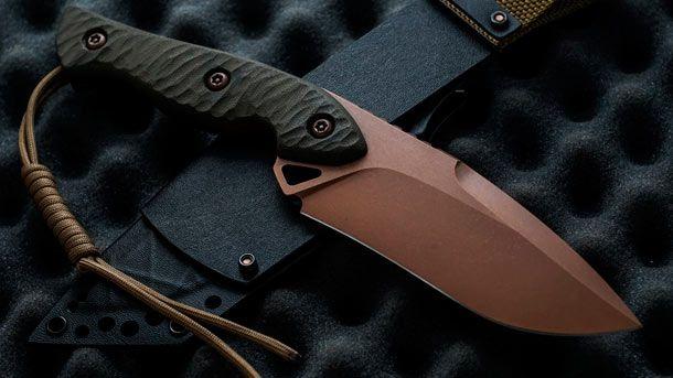 Torbé Custom Knives представил модель рабочего утилитарного ножа - TCK Jangle-Buster