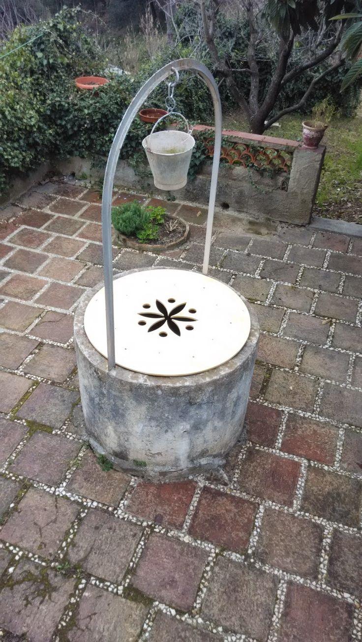 El pozo   #pozo, #tapa, #flor de la vida, #geometría sagrada, #diseño, #carpinteria