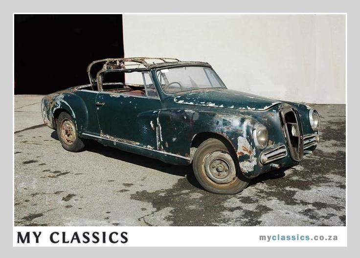 1951 Lancia Aurelia B50 Classic Car Barn Find