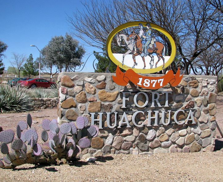 Fort Huachuca, Arizone- home of the U.S. Army Intelligence Center and the U.S. Army Network Enterprise Technology Command (NETCOM)/9th Army Signal Command