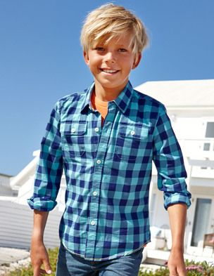 I've spotted this @BodenClothing Casual Shirt POOL/INDIGO 4-5y