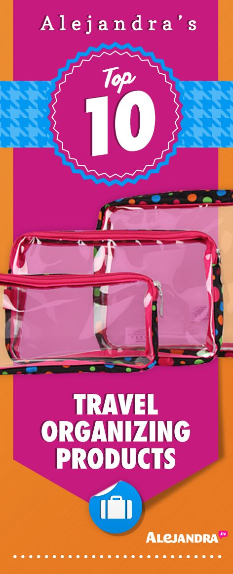 Top 10 Travel Organizing Products from https://www.alejandra.tv/shop/best-home-organizational-products/?producttype=garage?utm_source=Pinterest&utm_medium=Pin&utm_content=TravelProducts&utm_campaign=TopProducts/#garage