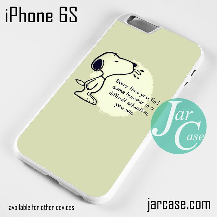 Snoopy Quotes Phone case for iPhone 6\/6S\/6 Plus\/6S plus