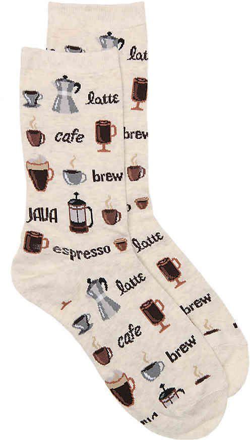 Hot Sox Women's Coffee Women's's Crew Socks