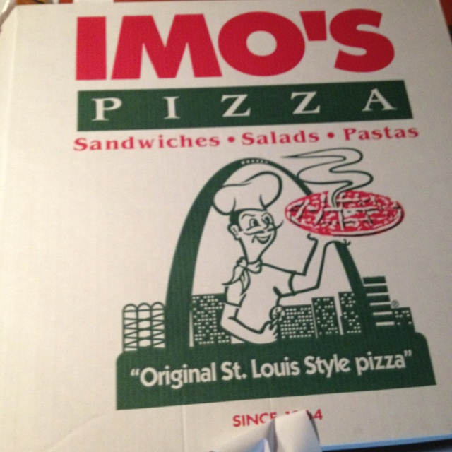 Your not a true Missourian if you don't love you some IMOS Pizza
