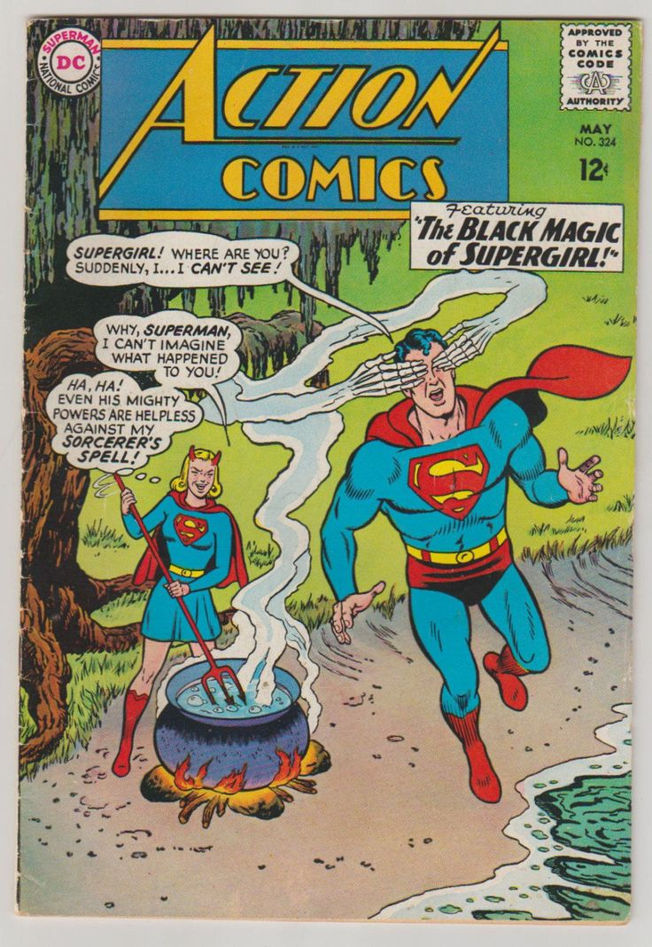 Action Comics; Vol 1, 324, Silver Age Comic Book. FN. May 1965. DC Comics #actioncomics #silveragecomics #comicsforsale
