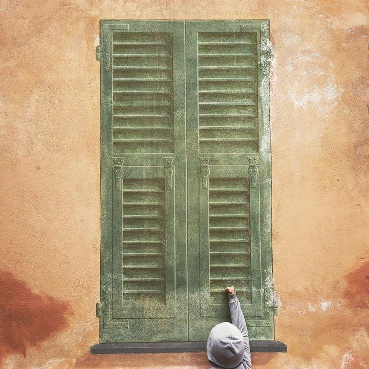#URBAGRAMMA #15 Toc toc. #Chiavari #Tigullio #Liguria #Italy #False #Window