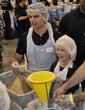 1,000 volunteers at convention center to fight senior hunger with NASCAR's Jeff Gordon