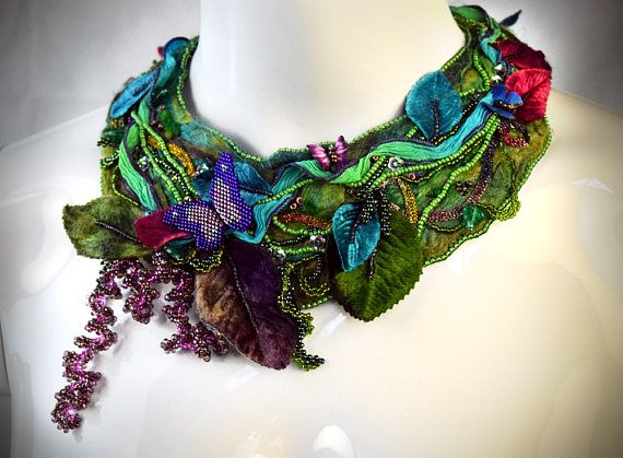 Hey, I found this really awesome Etsy listing at https://www.etsy.com/au/listing/517945528/forest-bib-necklace-forest-necklace-gift