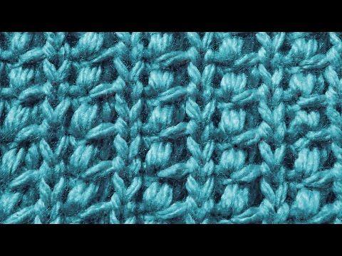 Декоративная Индийская резинка Вязание спицами Видеоурок 26 - YouTube