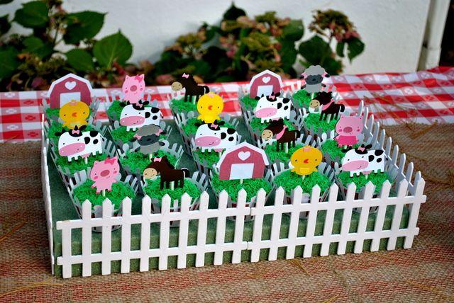 Farm Animals Birthday Party Ideas | Photo 12 of 18 | Catch My Party