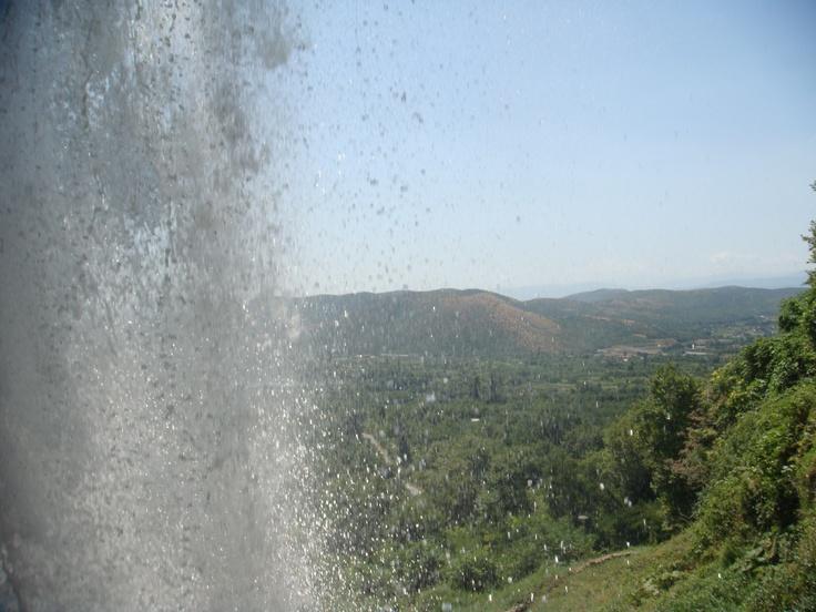 Edessa, Greece - just behind Edessa waterfalls