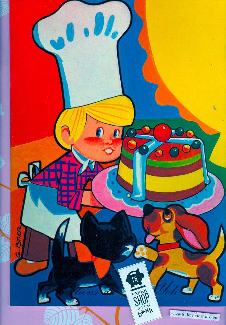Album da colorare, 12 pag.: illustrazioni col e b/n di G. Potier. Editions du Bois Joli [anno non indicato]  FNPAPERSHOP GOES AT B**K, 12 ot...